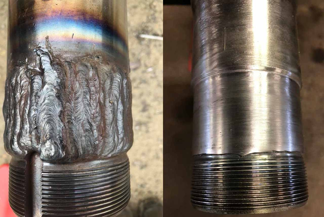 axle spindle repair